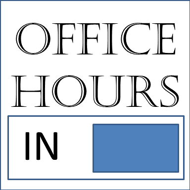 SJSHS Office Hours