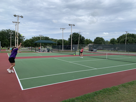 JV Tennis Wins Big in Pratt to Open Season