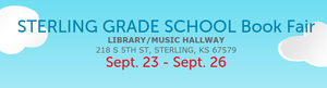 Sterling Grade School Book Fair